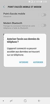 Samsung Galaxy A8 - Internet et connexion - Utiliser le mode modem par USB - Étape 7