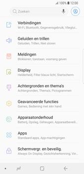 Samsung Galaxy S9 - Wi-Fi - Verbinding maken met Wi-Fi - Stap 4