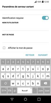 LG Q6 - E-mail - Configuration manuelle - Étape 14