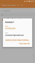 Samsung Galaxy J5 (2016) - Mensajería - Escribir y enviar un mensaje multimedia - Paso 8