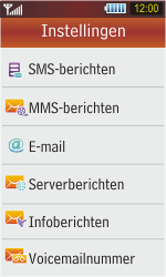 Samsung S5230 Star - E-mail - Handmatig instellen - Stap 6