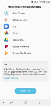 Samsung Galaxy J6 - Toestel reset - terugzetten naar fabrieksinstellingen - Stap 7