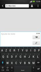 HTC One - Contact, Appels, SMS/MMS - Envoyer un SMS - Étape 8