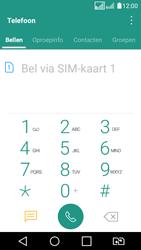LG K4 (2017) (LG-M160) - Voicemail - Handmatig instellen - Stap 3