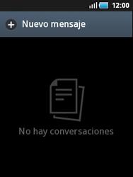 Samsung S5570 Galaxy Mini - Mensajería - Escribir y enviar un mensaje multimedia - Paso 3