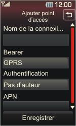 LG KP500 Cookie - Internet - Configuration manuelle - Étape 7