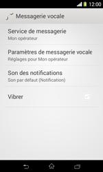 Sony D2005 Xperia E1 - Messagerie vocale - configuration manuelle - Étape 7