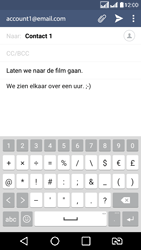 LG K8 - E-mail - Hoe te versturen - Stap 10