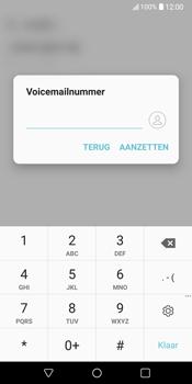 LG V30 (LG-H930) - Voicemail - Handmatig instellen - Stap 8