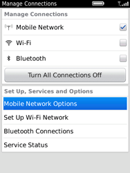 BlackBerry 9800 Torch - Internet - Enable or disable - Step 4