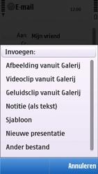 Nokia C5-03 - E-mail - e-mail versturen - Stap 9