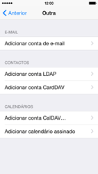Apple iPhone 5s iOS 8 - Email - Configurar a conta de Email -  7