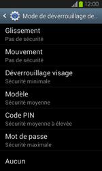 Samsung Galaxy S2 - Sécuriser votre mobile - Activer le code de verrouillage - Étape 6