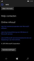 Microsoft Lumia 550 (Type RM-1127) - Instellingen aanpassen - Fabrieksinstellingen terugzetten - Stap 5