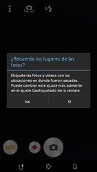 Sony Xperia M2 - Funciones básicas - Uso de la camára - Paso 4
