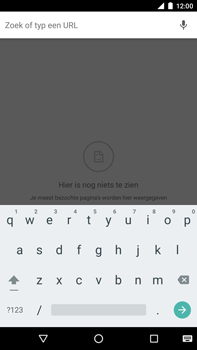 Huawei Google Nexus 6P - Internet - hoe te internetten - Stap 6