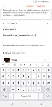 Samsung Galaxy A7 (2018) - E-mail - envoyer un e-mail - Étape 18