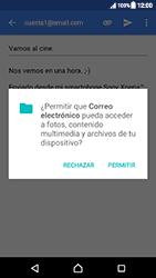 Sony Xperia XZ (F8331) - E-mail - Escribir y enviar un correo electrónico - Paso 11
