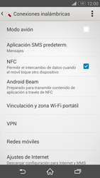 Sony Xperia Z3 - Funciones básicas - Activar o desactivar el modo avión - Paso 5
