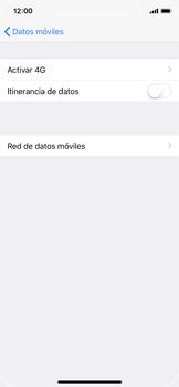 Apple iPhone X - Mensajería - Configurar el equipo para mensajes multimedia - Paso 9