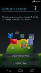 Motorola Moto E (1st Gen) (Kitkat) - Primeiros passos - Como ativar seu aparelho - Etapa 9
