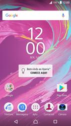 Sony Xperia XA (F3111) - Email - Adicionar conta de email -  1
