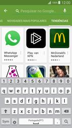 Samsung Galaxy S4 LTE - Aplicações - Como pesquisar e instalar aplicações -  14