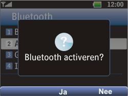 LG C360 Golf - Bluetooth - Headset, carkit verbinding - Stap 6