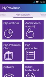 Huawei Y3 - Applicaties - MyProximus - Stap 12