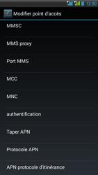 HTC Desire 516 - MMS - Configuration manuelle - Étape 12