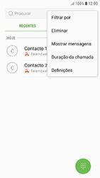 Samsung Galaxy A3 (2016) - Android Nougat - Chamadas - Bloquear chamadas de um número -  5