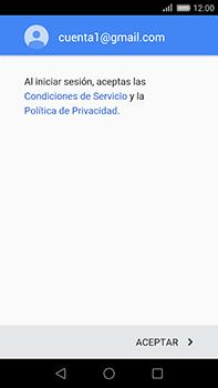 Huawei GX8 - E-mail - Configurar Gmail - Paso 13
