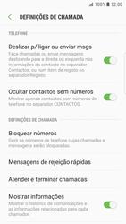 Samsung Galaxy S7 Edge - Android Nougat - Chamadas - Como bloquear chamadas de um número -  6