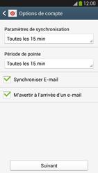 Samsung Galaxy S4 - E-mails - Ajouter ou modifier un compte e-mail - Étape 16