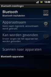 Sony Ericsson Xperia Mini Pro - Bluetooth - Headset, carkit verbinding - Stap 6