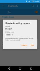 Sony Xperia M5 - WiFi and Bluetooth - Setup Bluetooth Pairing - Step 7