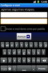 Huawei U8667 - Email - Como configurar seu celular para receber e enviar e-mails - Etapa 7