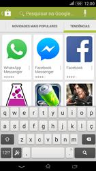Sony Xperia E4 - Aplicações - Como pesquisar e instalar aplicações -  14