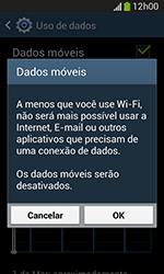 Samsung Galaxy Grand Neo - Rede móvel - Como ativar e desativar uma rede de dados - Etapa 6