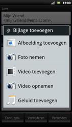 Sony Ericsson Xperia Neo - E-mail - Hoe te versturen - Stap 8