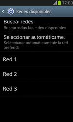 Samsung Galaxy S3 Mini - Red - Seleccionar una red - Paso 8