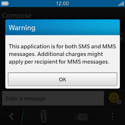 BlackBerry Q10 - MMS - Sending pictures - Step 3
