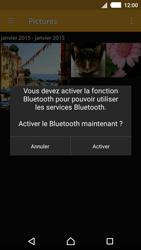 Sony Xperia M4 Aqua - Photos, vidéos, musique - Envoyer une photo via Bluetooth - Étape 12