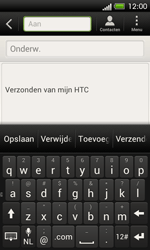 HTC C525u One SV - E-mail - Hoe te versturen - Stap 5