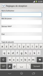 Sony D2303 Xperia M2 - E-mail - Configuration manuelle - Étape 8