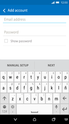 HTC One M9 - E-mail - Manual configuration - Step 6