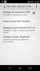 Sony Xpéria E3 - Internet et connexion - Utiliser le mode modem par USB - Étape 9