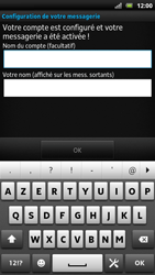 Sony LT22i Xperia P - E-mail - Configuration manuelle - Étape 17