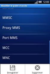 Sony Ericsson Xperia X8 - Mms - Configuration manuelle - Étape 11