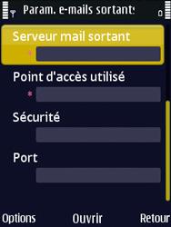 Nokia N86 - E-mail - Configuration manuelle - Étape 26
